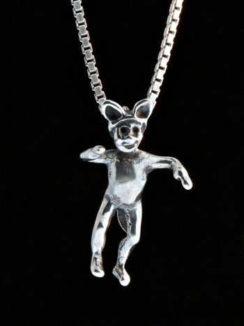 Classic Peter Pan - Lost Boy Charm - Silver
