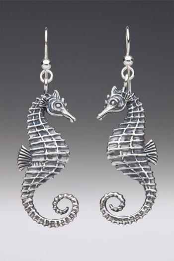 Sea Life - Seahorse Earrings