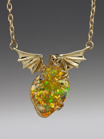 Mirage - Mexican Fire Opal Dragon - SOLD