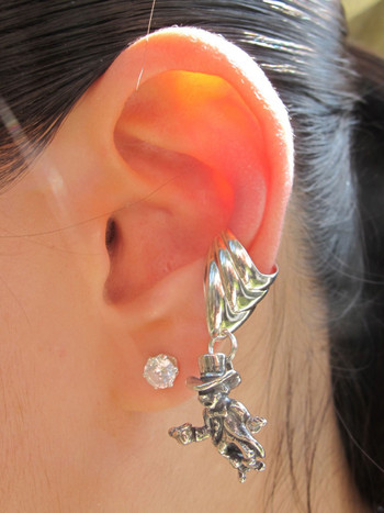 Mad Hatter Ear Cuff Chevron