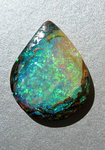 Reef Treasure - Australian Koroit Boulder Opal - SOLD