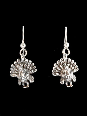 Turkey Earrings - Silver