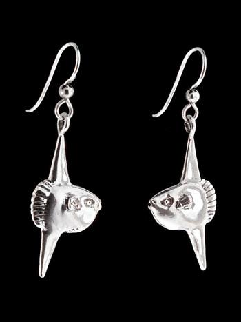 Mola Mola Sunfish Earrings