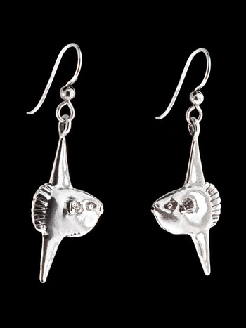 Mola Mola Sunfish Earrings