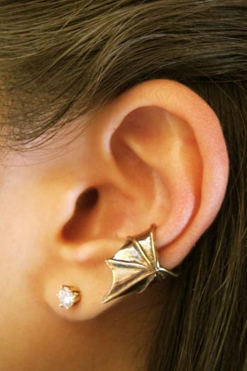 Ear Wing Cuff Bronze