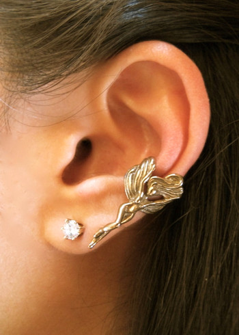 Fairy Ear Cuff in Bronze
