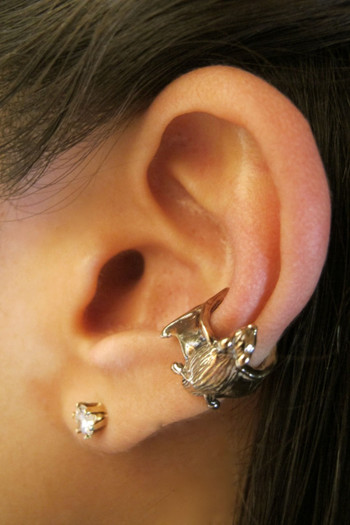 Bat Ear Cuff - Bronze