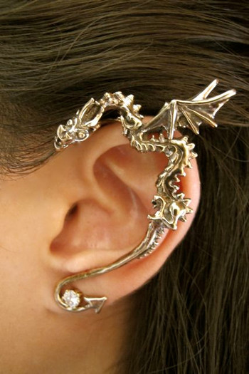 Classic Dragon Ear Wrap in Bronze