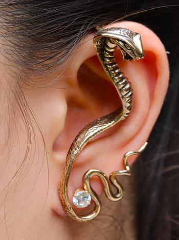 Cobra Ear Wrap - Bronze