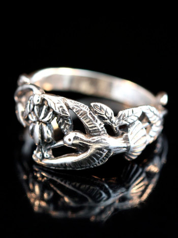 Hummingbird Ring -Silver