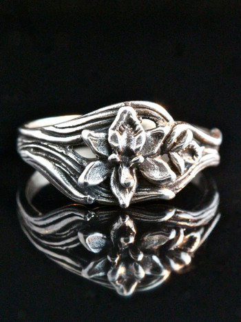 Orchid Ring - Silver