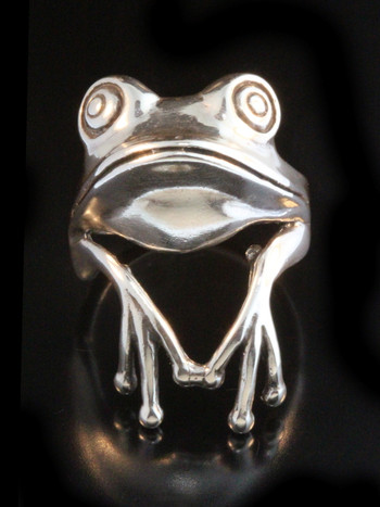 Tree Frog Finger Pet Ring
