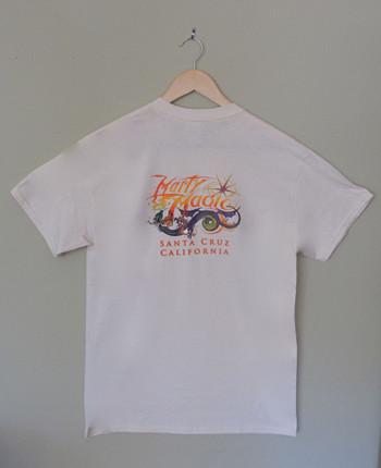 Men's Cream Colorful Marty Magic Dragon T-Shirt