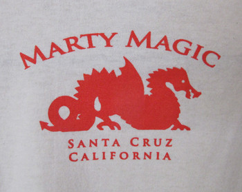 Men's Cream Red Dragon T-Shirt