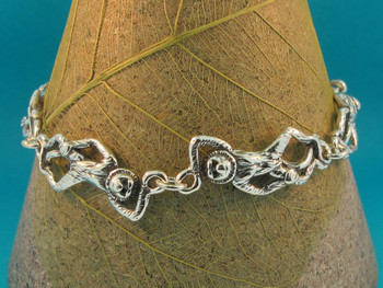 Monkey Business Bracelet - Silver