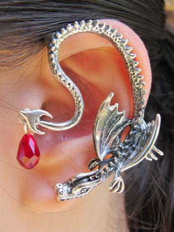 Throne Dragon Ear Wrap