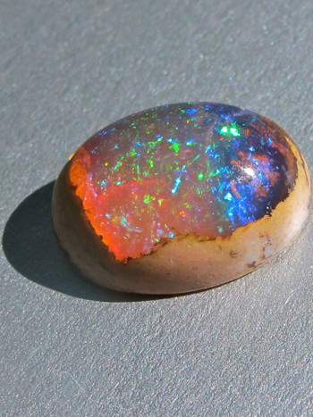 Star Fire Lagoon-Mexican Matrix Fire Opal, 11ct