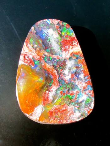 45 ct Mexican Matrix Fire Opal