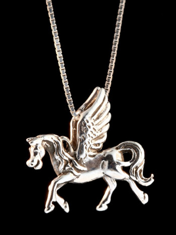 Pegasus Pendant inSterling Silver