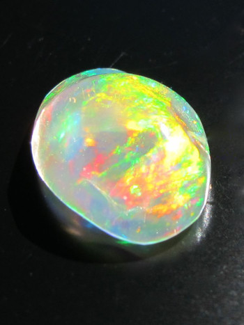 Raindrop-Mexican Fire Opal, 3.5 ct