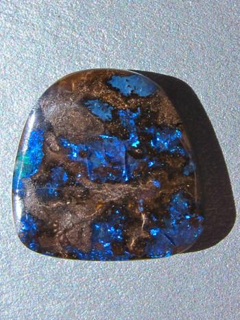 Cobalt-Australian Boulder Opal, 8.5 ct