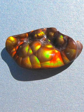 Vitreous - Arizona Fire Agate