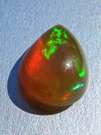Lizards Tear- Mexican Fire Opal, 5.0 ct