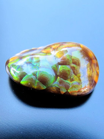 Tortoise Shell-Fire Agate, 5 ct