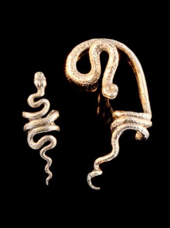 EAR CUFF SPECIAL Snake Ear Cuff Combo Bronze - Buy 2 Get 1 Ear Cuff Free