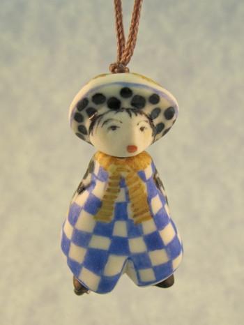 Agathe - Les Petite Bon-Hommes en Porcelaine