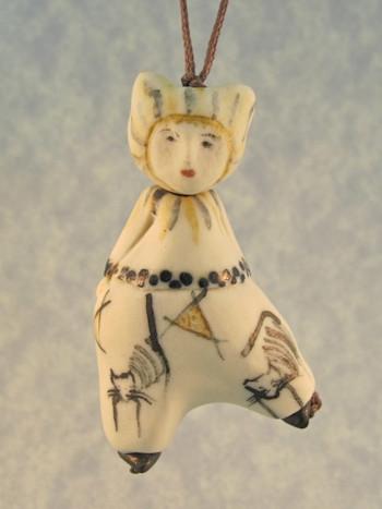 Chat de Changling - Les Petite Bon-Hommes en Porcelaine