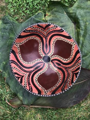 Zimbabwe Bowl - Chiseled Abstract Design