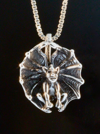 Cupped Winged Gargoyle Charm