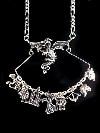 Dragon Charm Holder Collection