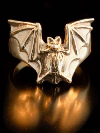 Bat Flight Ring in 14k Gold