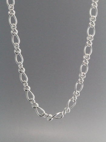 Figure Eight Chain Sterling SIlver