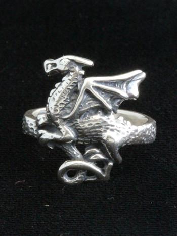 Flat Dragon Ring