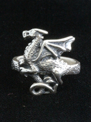 Flat Dragon Ring