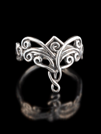 Arabesque Ring - Silver