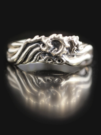Eternity Wave Ring - Silver