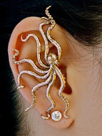 Octopus Ear Wrap - Bronze