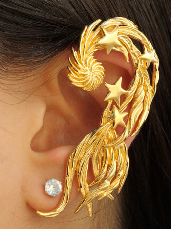 Comet Ear Wrap - Vermeil