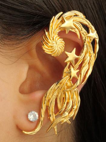 Comet Ear Wrap - Vermeil