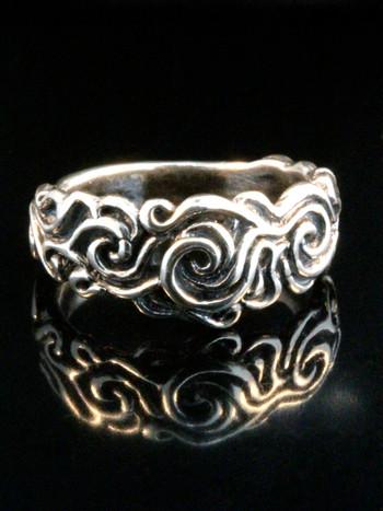 Cosmos Ring - Silver