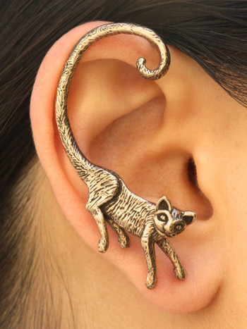 Cat's Meow Ear Wrap in Bronze