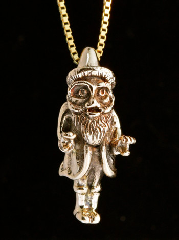 Christmas - Saint Nicholas Charm - 14K gold