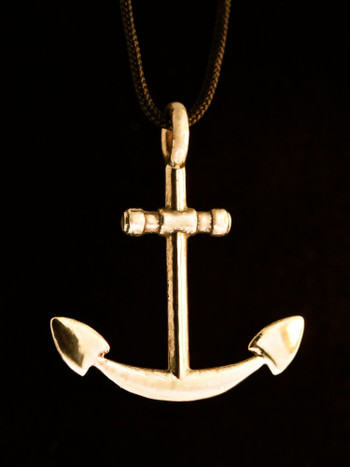 Anchor Pendant - Bronze