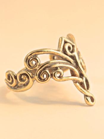 Arabesque Ring - 14K Gold