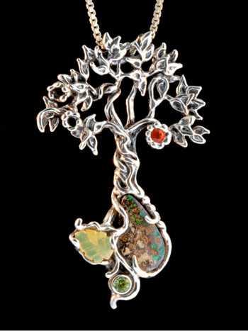 Primeval Forest Tree Pendant #16