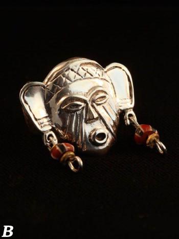 Tribal Mask Ring - Option B